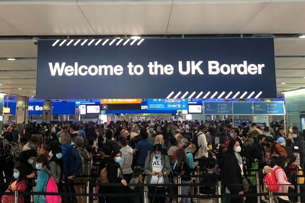 Starting early next month, Britain will require arrivals' vaccination records to include their date of birth, something Hong Kong's forms lack. Photo: Reuters