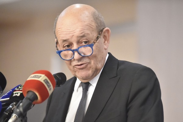 French Foreign Minister Jean-Yves Le Drian. Photo: AFP