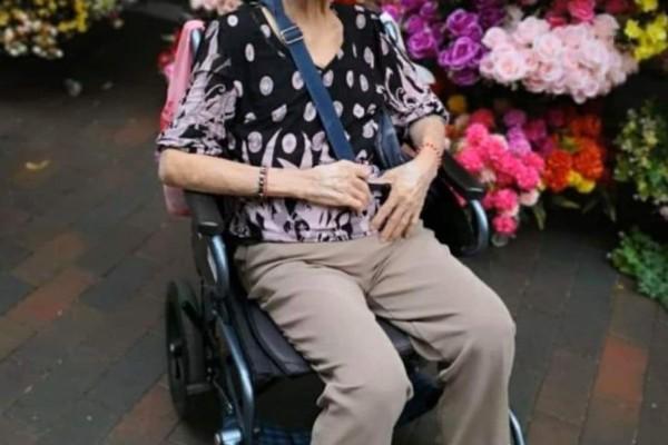 Yap Lay Hong made headlines last year as one of oldest coronavirus survivors anywhere. Photo: Facebook