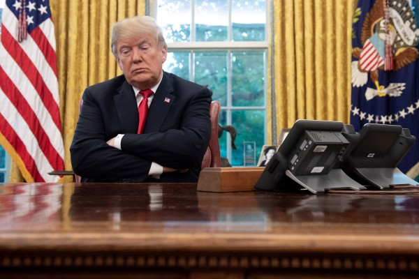 """Former US president Donald Trump has said he will cite """"executive privilege"""" to block the January 6 committee's requests. Photo: TNS"""