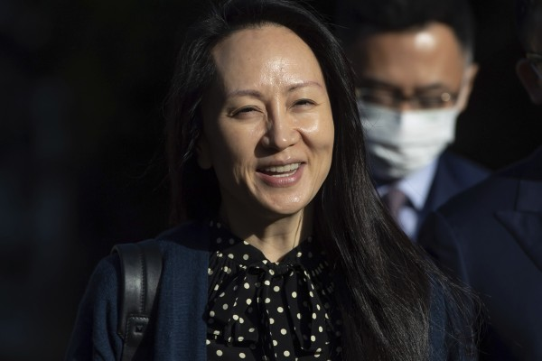 China says Meng Wanzhou's case was raised by Chinese President Xi Jinping in talks with US President Joe Biden in early September. Photo: AP