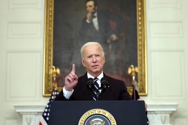 US President Joe Biden speaks at the White House on September 9. Photo: Getty Images