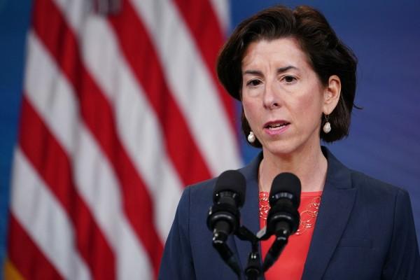 "US Commerce Secretary Gina Raimondo says the US does not like ""autocratic governments like China"" writing the rules. Photo: AFP"