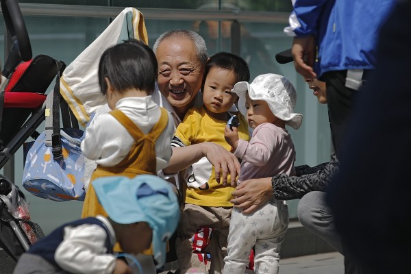 There are now more seniors than children in China. Photo: AP