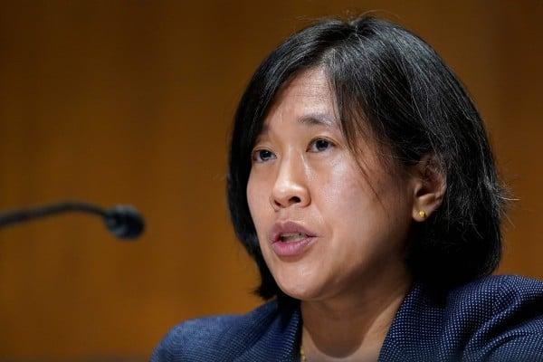 US Trade Representative Katherine Tai has described tariffs as useful tools in defending American economic interests. Photo: AFP