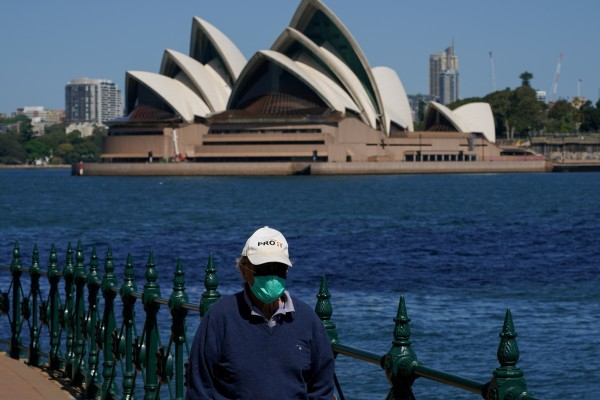 Stay-at-home orders will be lifted for the Sydney's five-million-plus people now that 70 per cent of state residents over 16 have been double jabbed. Photo: Reuters