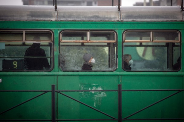 Serbia has been averaging more than 6,500 Covid-19 cases a day over the past two weeks. Photo: AFP