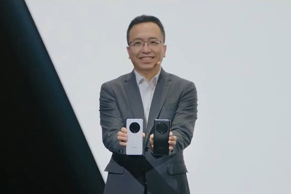 Honor CEO George Zhao unveils the new Magic 3 flagship smartphones running on Qualcomm Snapdragon chips in August. US Senenator Marco Rubio called on the Biden administration this week to blacklist the smartphone company, making it subject to the same sanctions that restrict its former owner Huawei. Photo: Honor, screenshot via YouTube