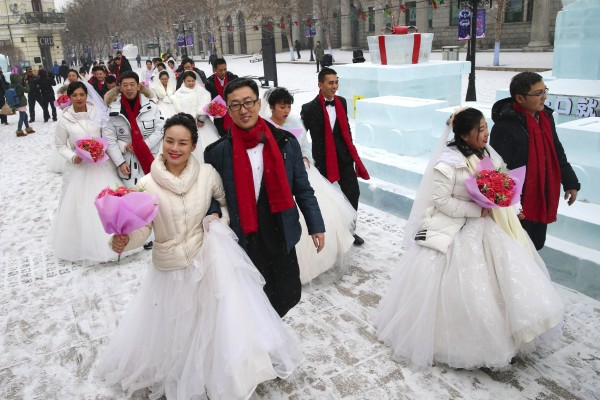 Last year saw more people getting divorcd than getting married. Photo: EPA-EFE