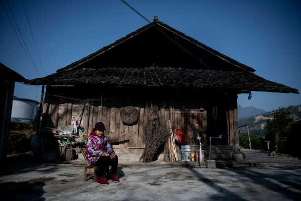 China's poorest provinces had the smallest number of charities taking part in 99 Giving Day. Photo: AFP