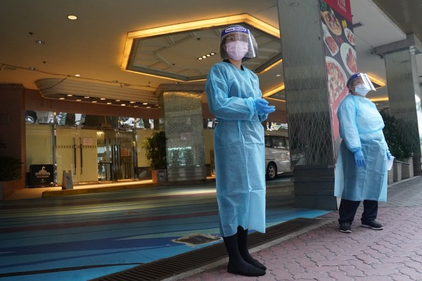 Hotel staff will soon be subject to more frequent coronavirus testing. Photo: Sam Tsang