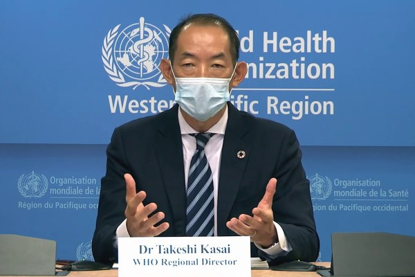 """Takeshi Kasai, World Health Organization regional director for the Western Pacific, says it now seems clear that """"the virus will not disappear soon"""". Photo: WHO"""