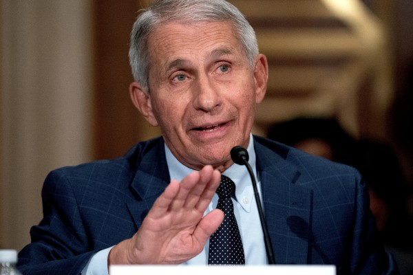 Dr Anthony Fauci, director of the National Institute of Allergy and Infectious Diseases. Photo: Reuters