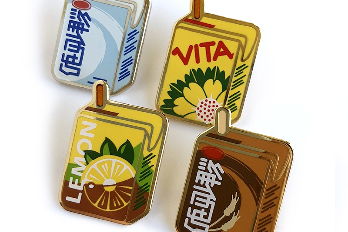 We Re In Love With These Cute Vitasoy Pins Goldthread