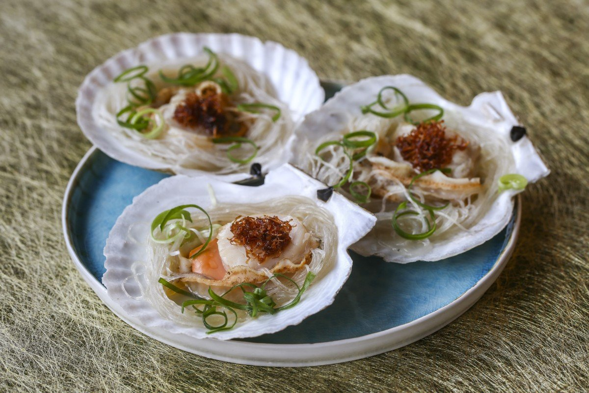 Image result for steamed scallops recipe