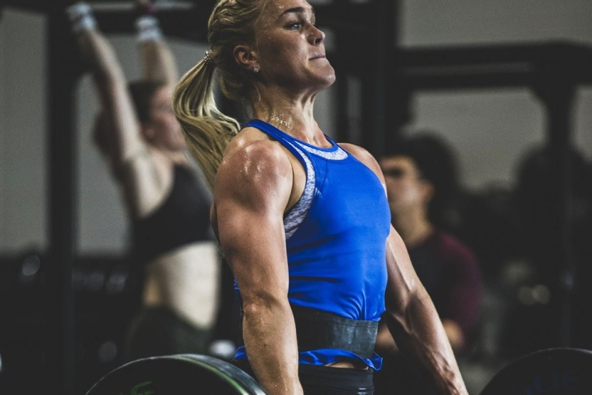 Sara Sigmundsdottir is getting back to her brilliant best in 2019. Photo: Rogue Fitness