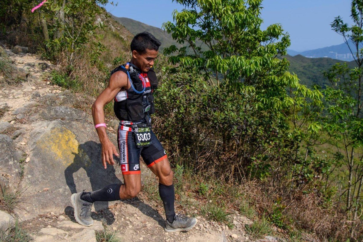 John 'Stingray' Ray Onifa is set to become a staple on Hong Kong's trail running podiums. Photo: Sunny Lee