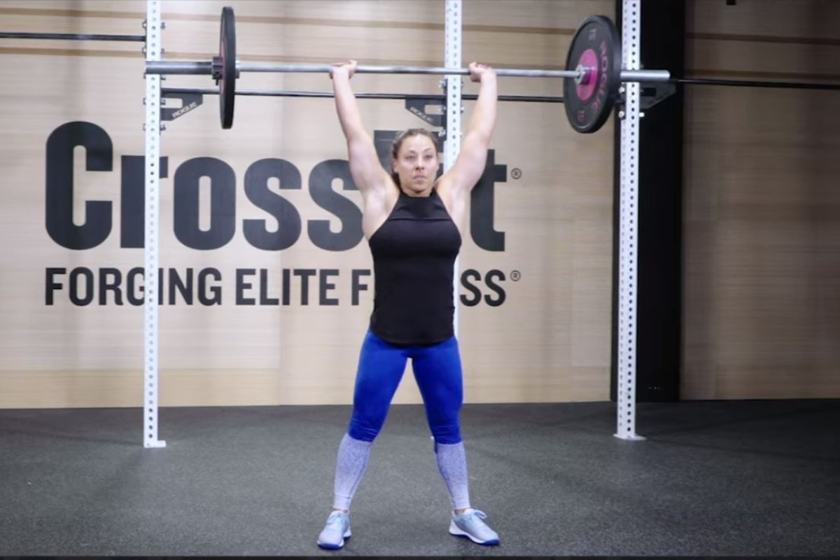 21f304846a2 CrossFit s 19.5 workout. Photo  CrossFit Open