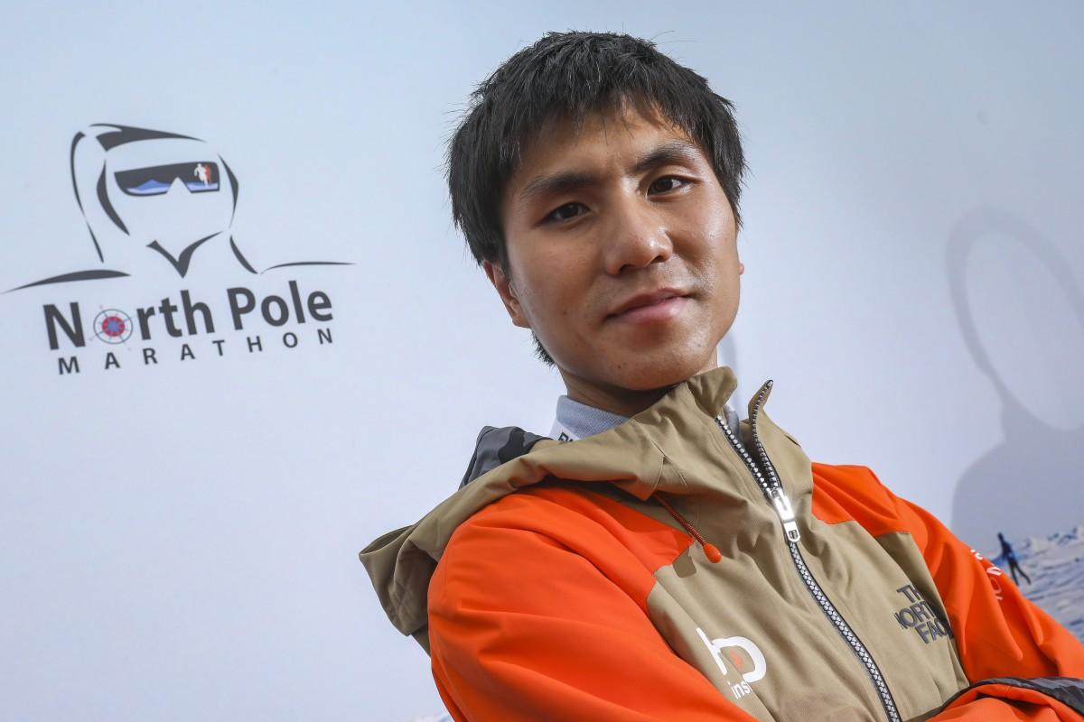 Hong Kong's top-ranked marathon runner Hard Tsui Chi-kin will take part in the North Pole Marathon next month. Photo: K.Y. Cheng