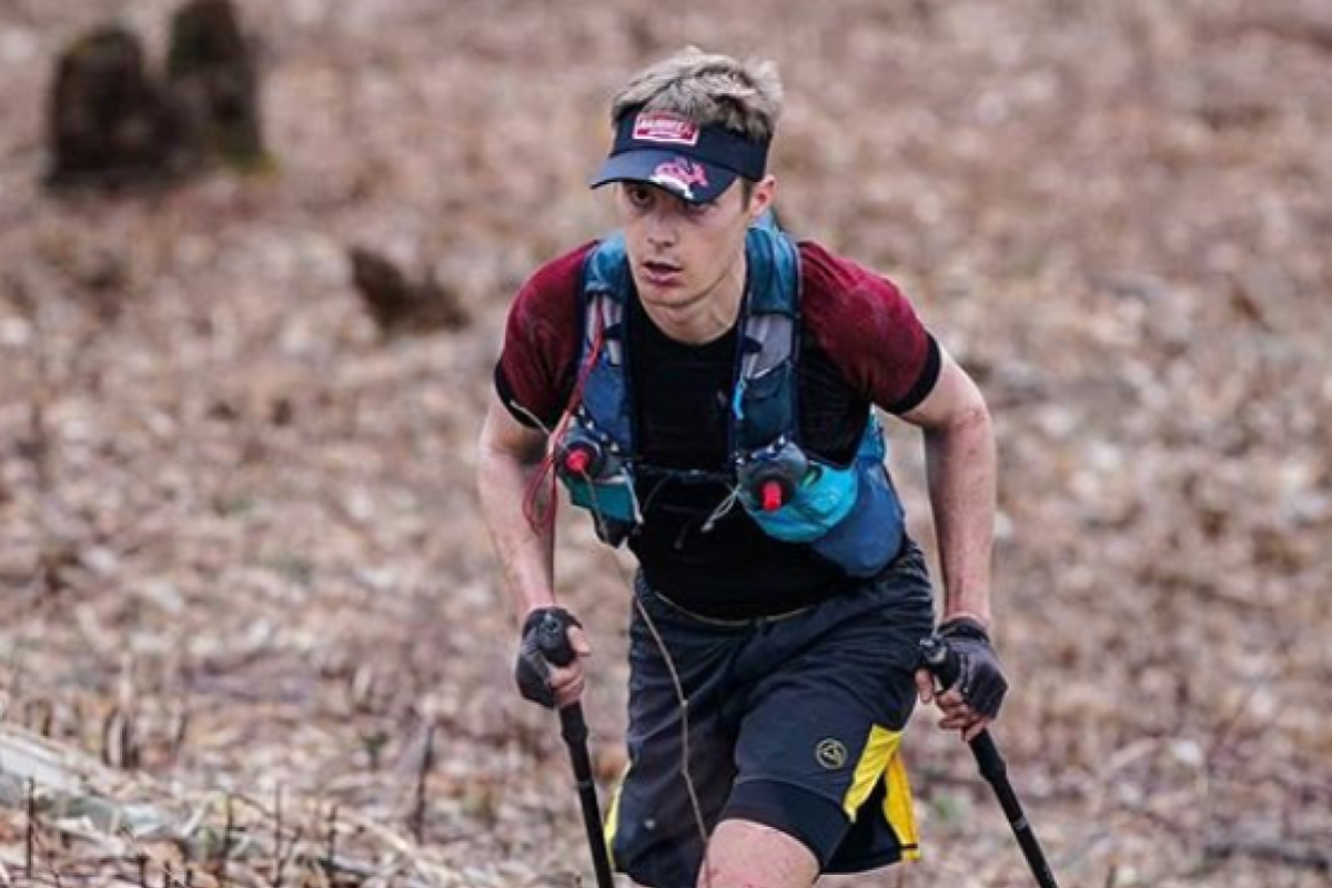 John Kelly completed the Barkley Marathon previously, but in 2019 decided to stop before the end when the fun finished. Photo: @howiesternphoto