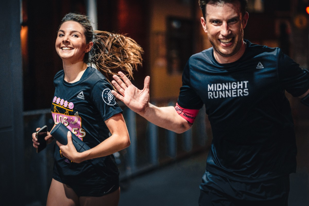 Midnight Runners is a social running crew with 10 chapters around the world, including the latest addition in Hong Kong. Photos: Benjamin Weser