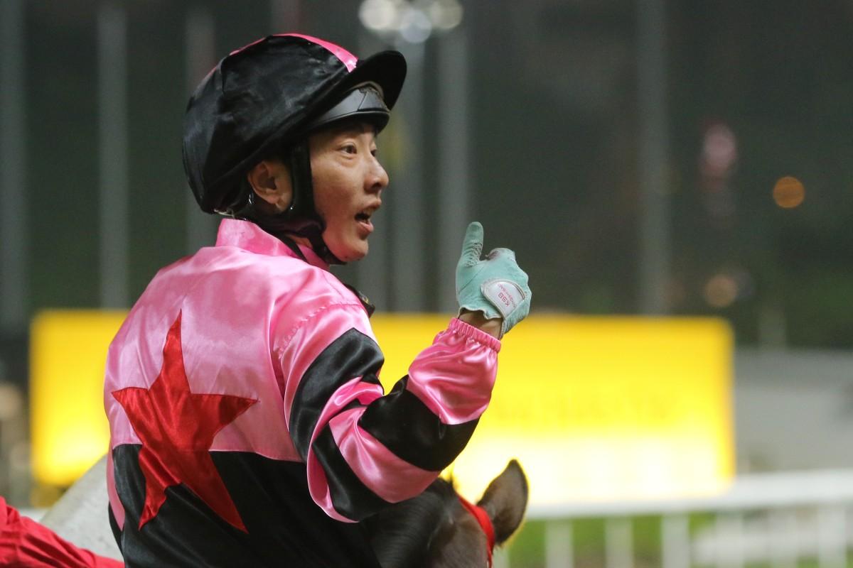 Jockey Eddy Lai at Happy Valley. Photos: Kenneth Chan