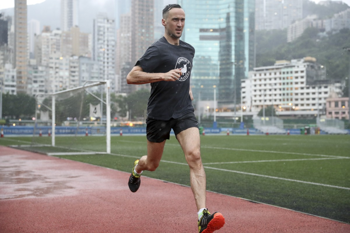 Sports reporter Patrick Blennerhassett is starting training for the 2020 Hong Kong Marathon. Photo: Edward Wong