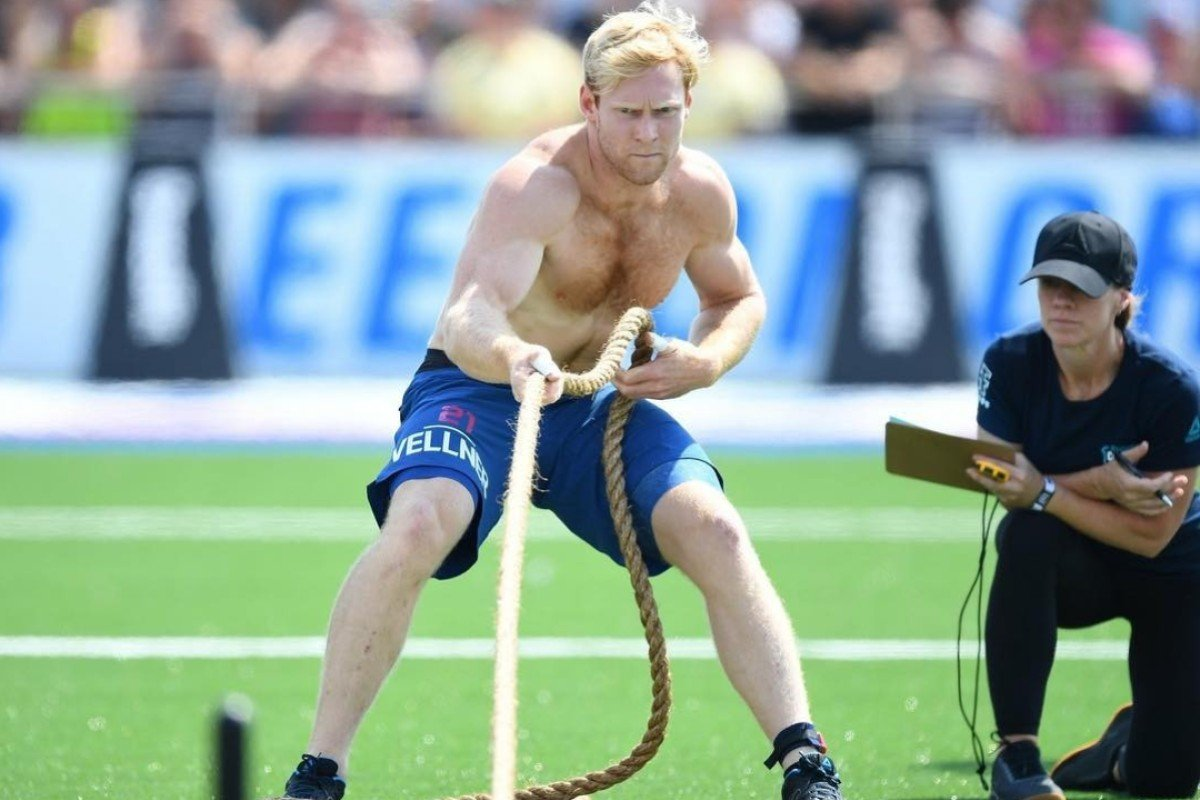 Patrick Vellner is seen as one of the contenders for the top spot at the 2019 CrossFit Games. Photo: Handout