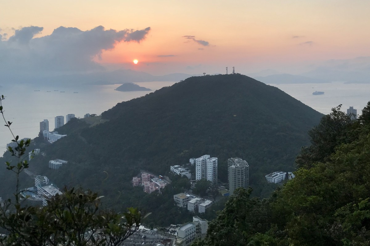 Steep climbs, trails and beautiful sunsets all minutes from your office, make Hong Kong unique for commuting. Photo: Mary Hui