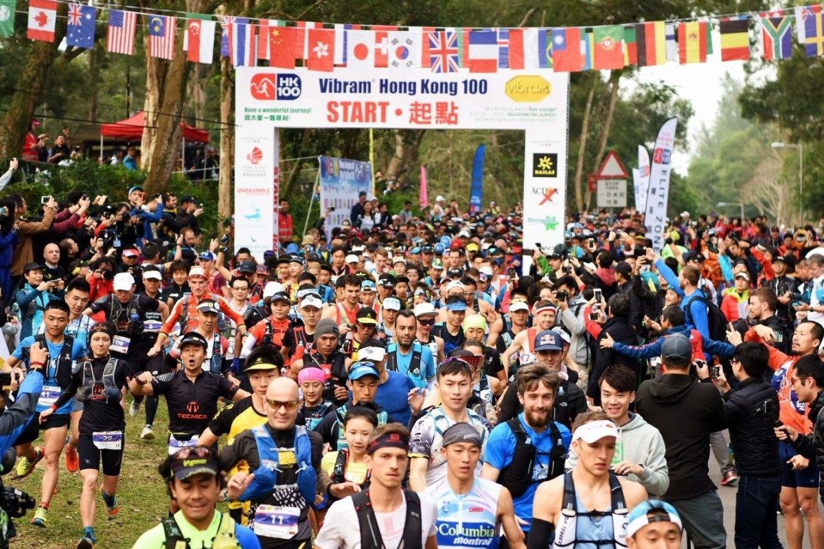 The HK100 is an example of international elites and runners taking part in their first 100km, all lining up on the start line together. Photo: HK100