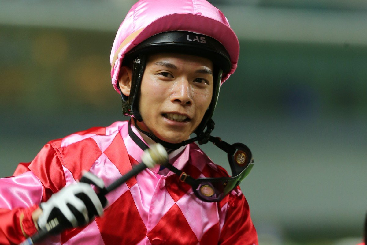 Victor Wong is on the road to recovery from a serious trackwork fall. Photos: Kenneth Chan