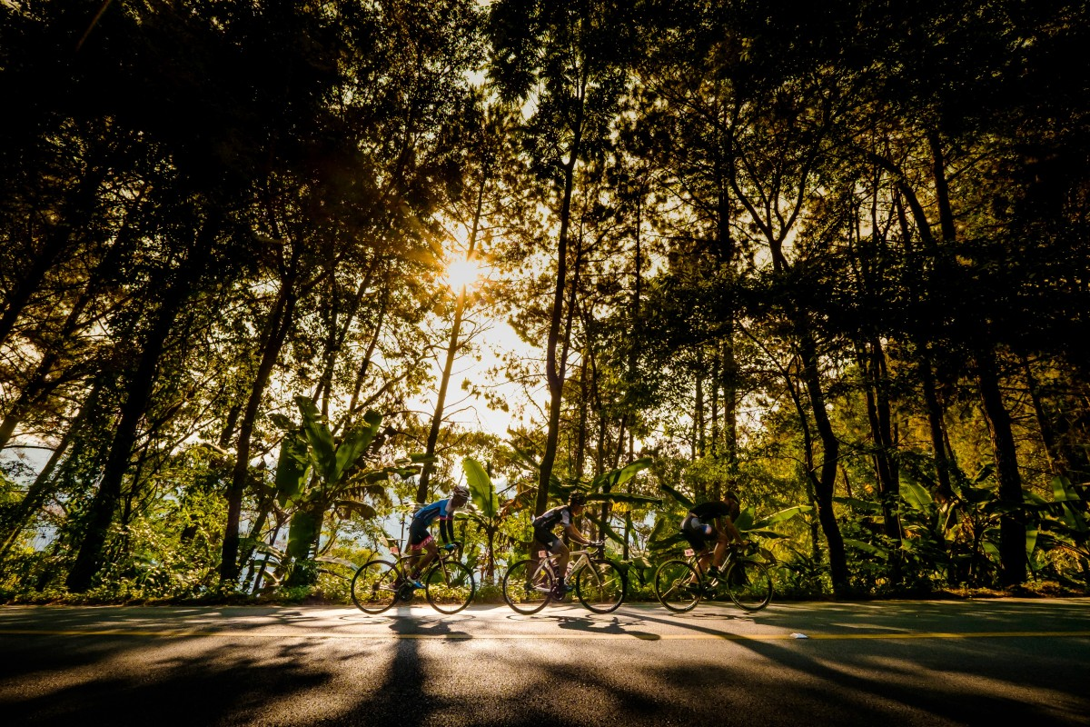 There's no need to leave Asia for some of the most breathtaking road bike rides in the world. Photo: Steve Thomas