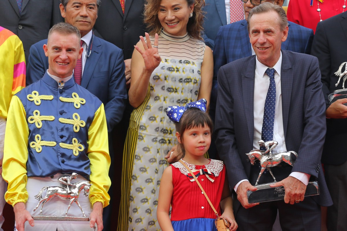Champion jockey Zac Purton and leading trainer John Size headline a raft of big numbers in 2018-19. Photos: Kenneth Chan