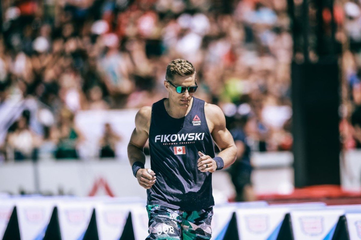 Brent Fikowski was eliminated from the 2019 CrossFit Games on day three. Photo: CrossFit Inc.