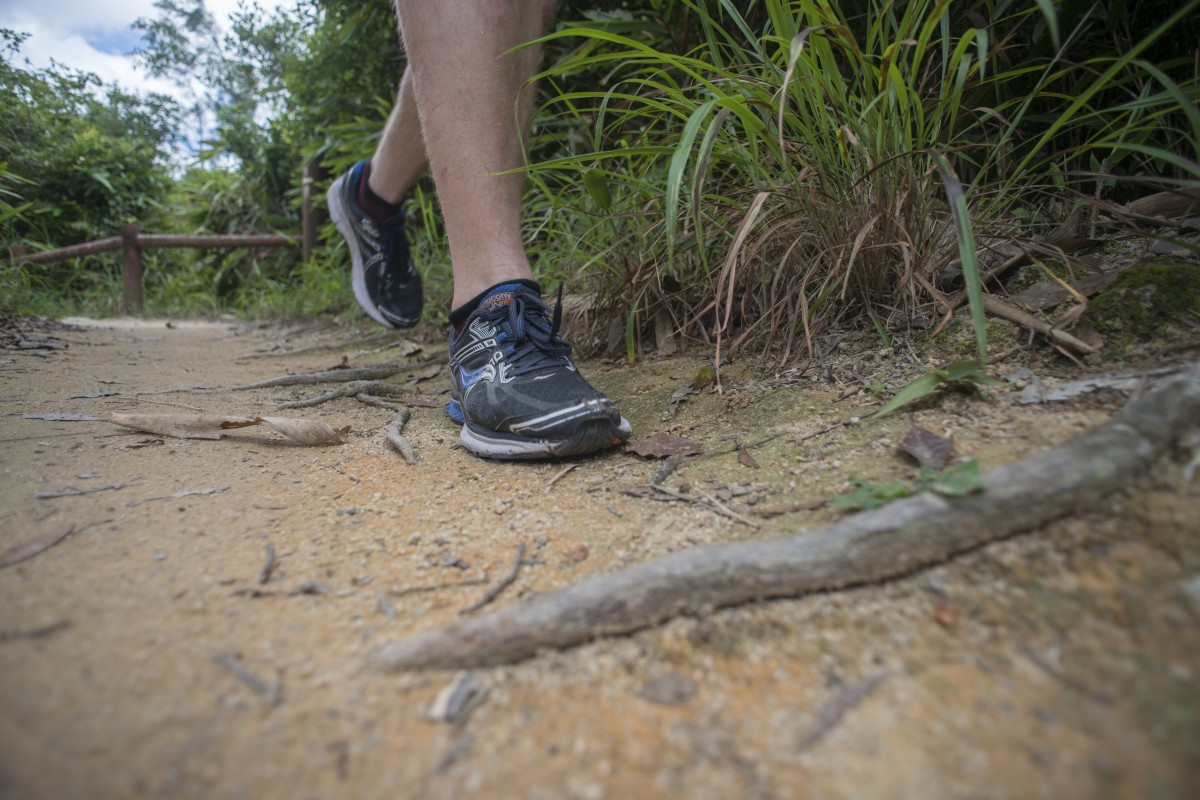 Running on flats will improve your overall economy and make hills easier. Photo: Antony DICKSON