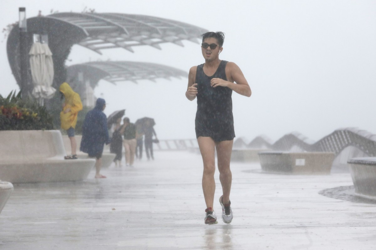 You can't miss your training just because it's raining, but having perpetually wet shoes is an issue for many runners. Photo: May Tse