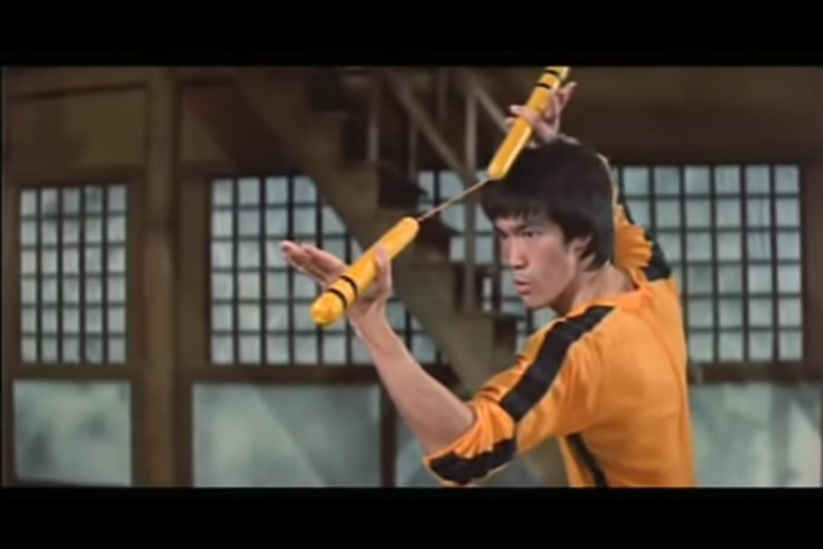 Bruce Lee's philosophy has become a symbol for the anti-government protests. Photo: YouTube