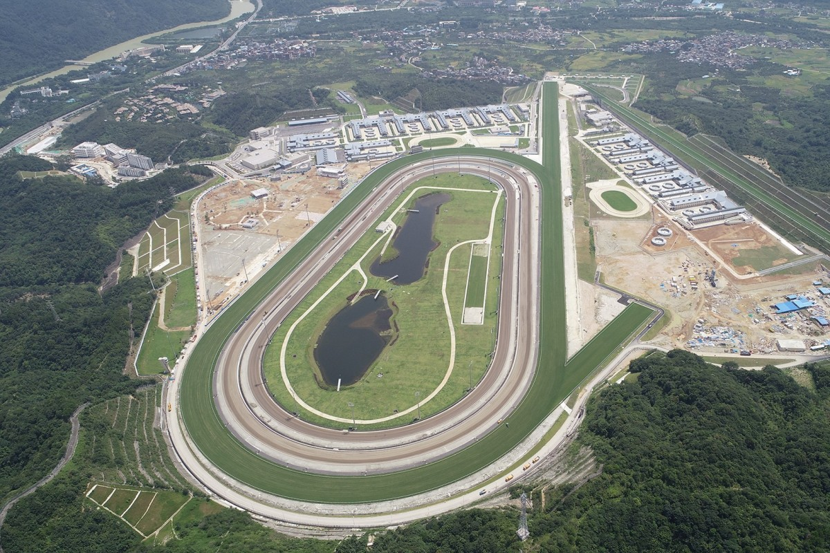 Overview of the Hong Kong Jockey Club Conghua Racecourse. Photo: HKJC