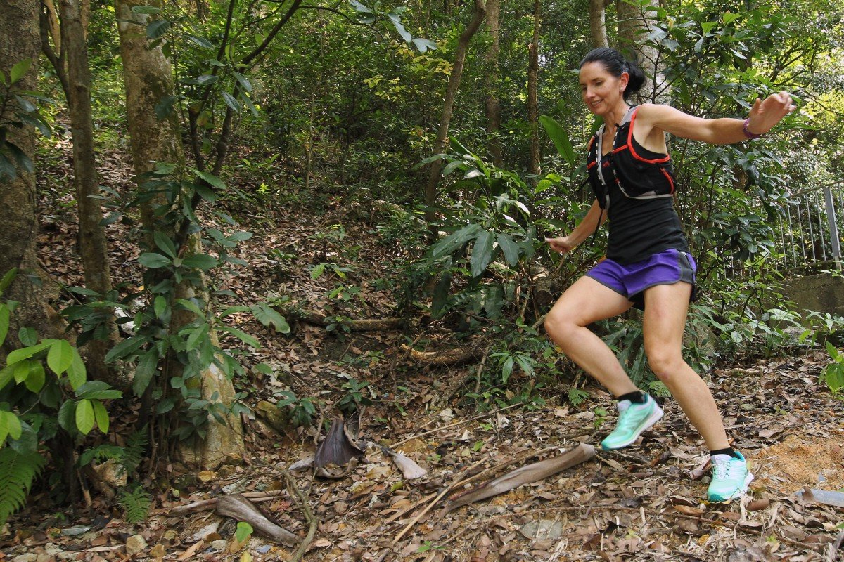 Marie McNaughton says mental training is as important as physical training on a race recce. Photo: Franke Tsang