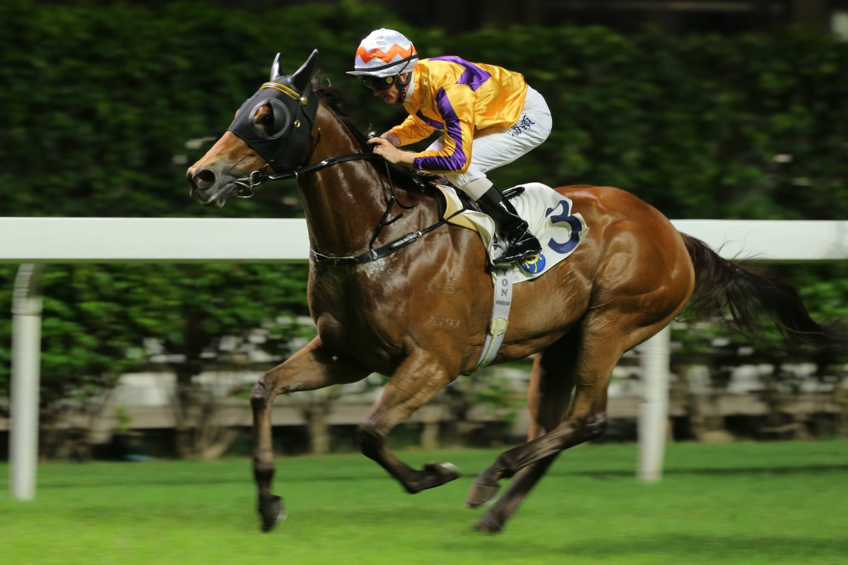 Saul's Special wins under Zac Purton at Happy Valley in June. Photos: Kenneth Chan