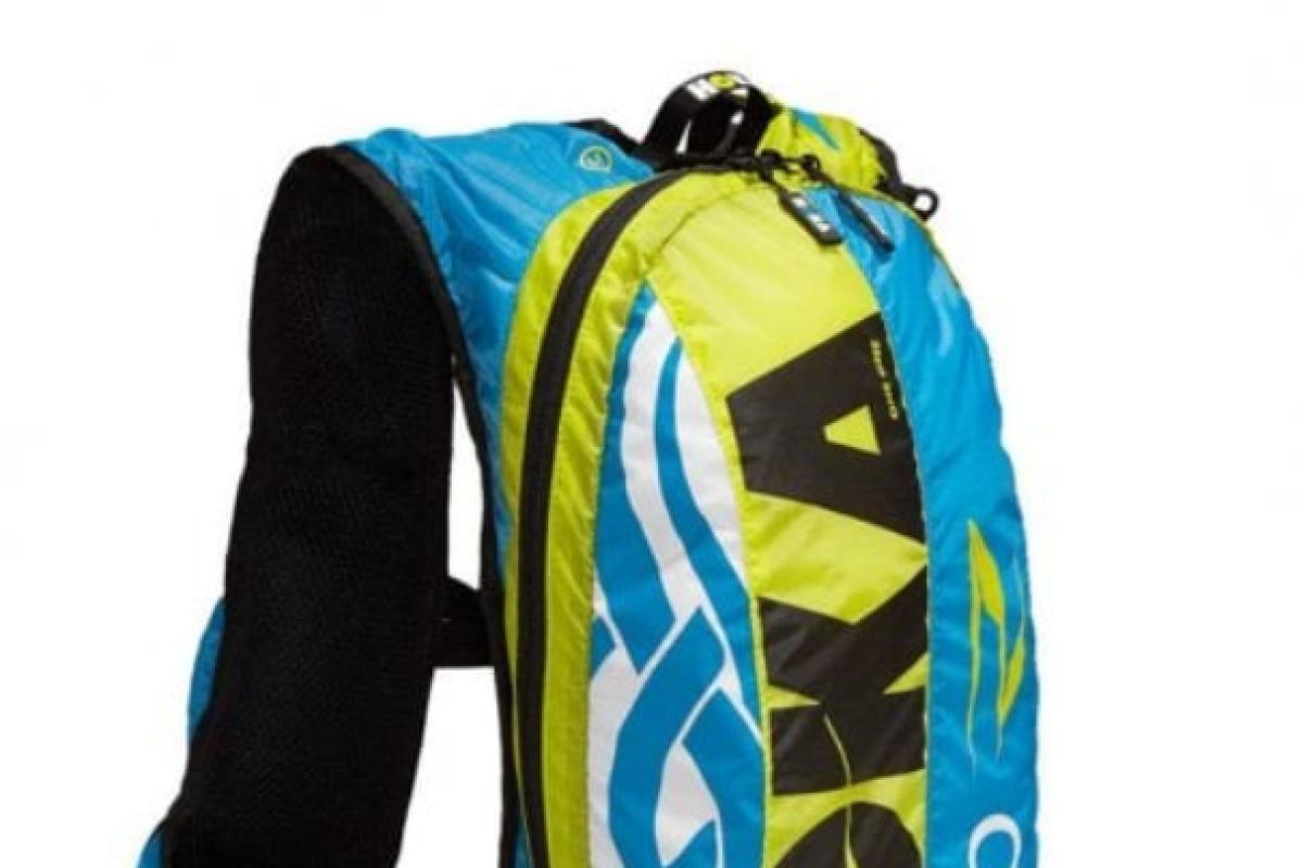 Hoka One One Evo backpack can hold up to 17 litres. Photo: Hoka One One