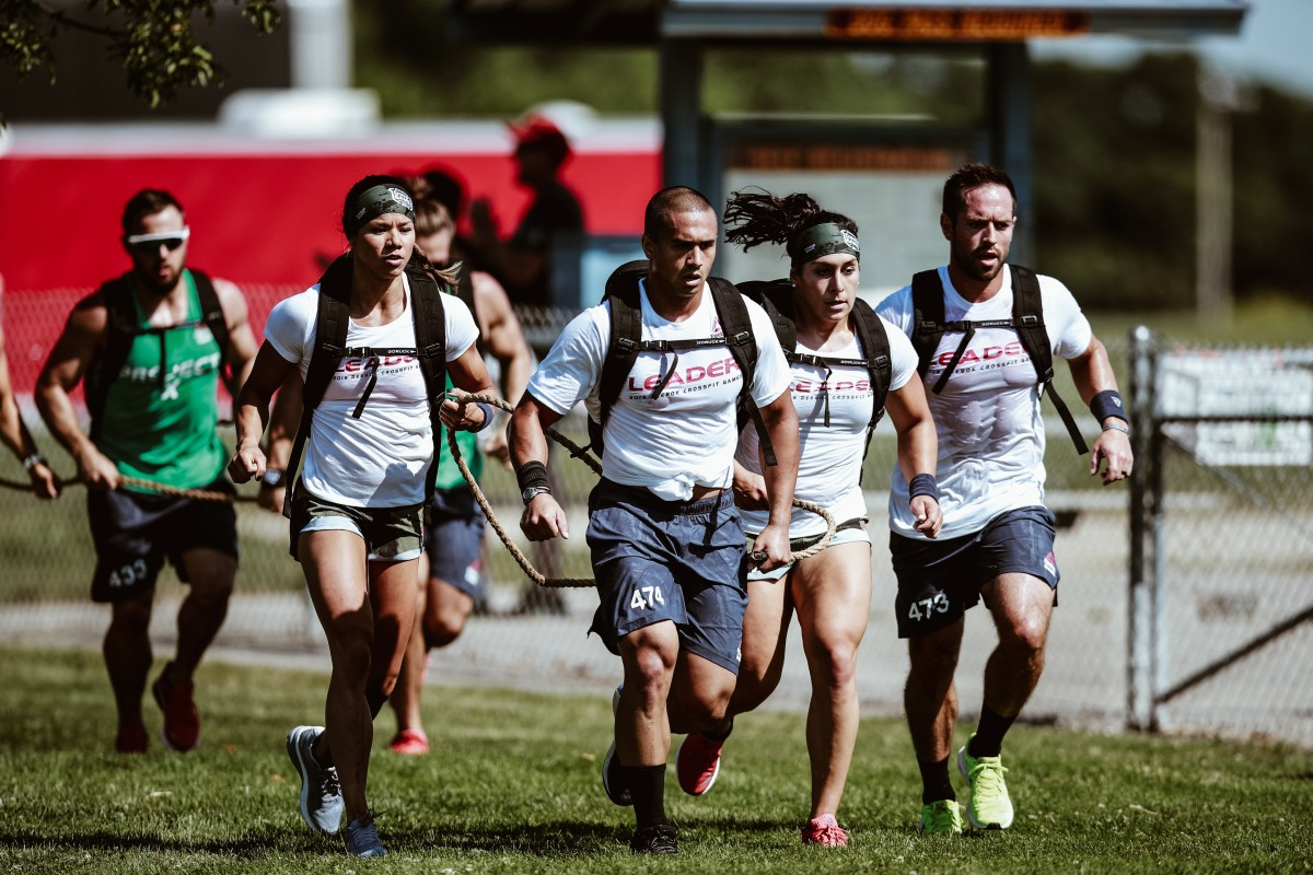 CrossFit Mayhem compete at the Games. Next year they will be joined by Scott Panchik. Photo: Duke Loren