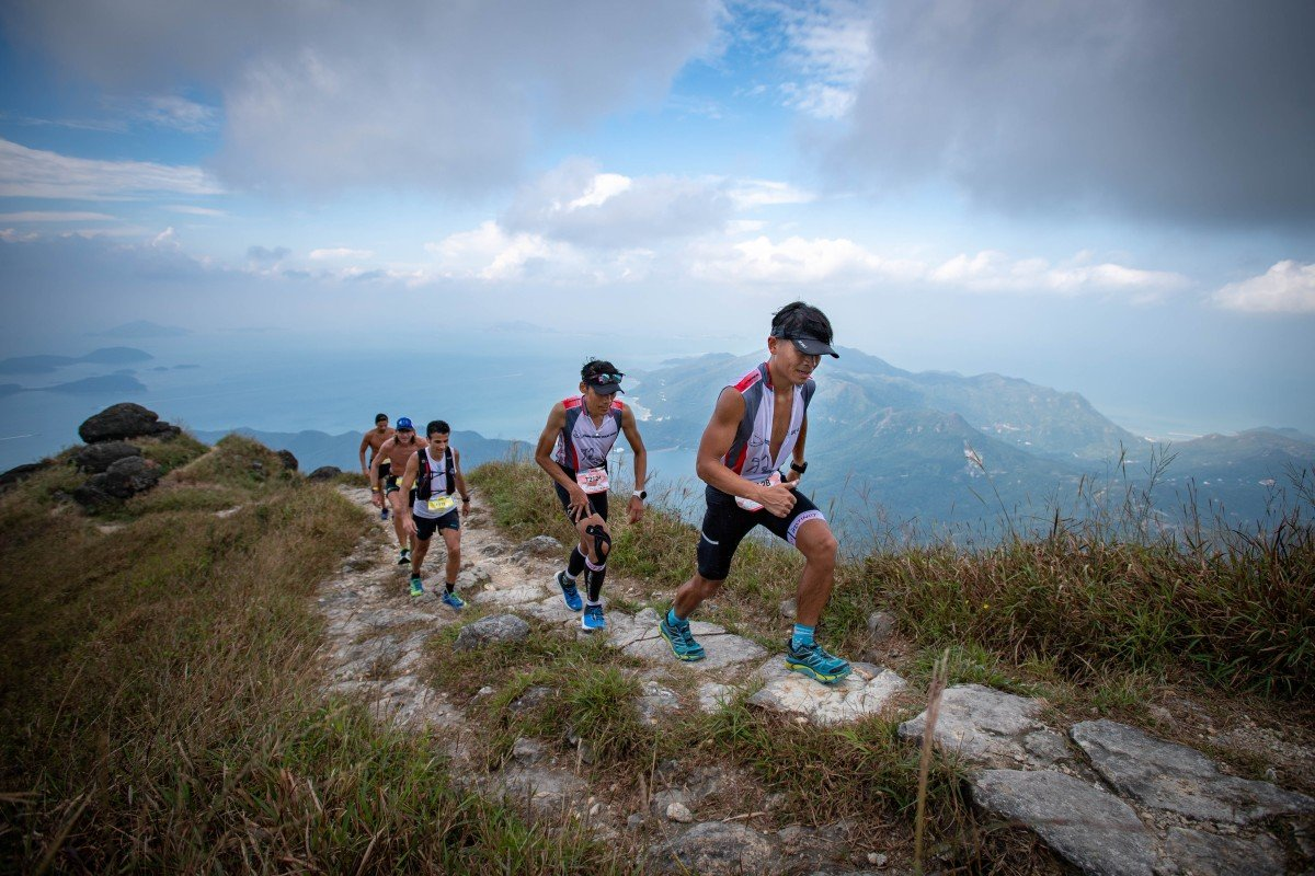 Runners take on the Lantau 2 Peak trail race, one of many races to chose from in Hong Kong Photo: Action Asia Events