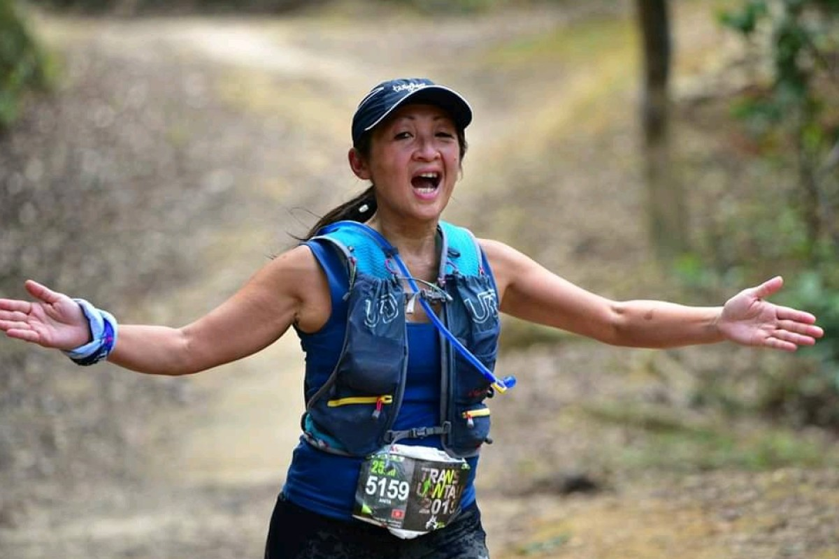 Running was 'alien' to Anita Chau, now she is running her fifth Moontrekker and building up to the 100km Oxfam Trailwalker. Photos: Handout
