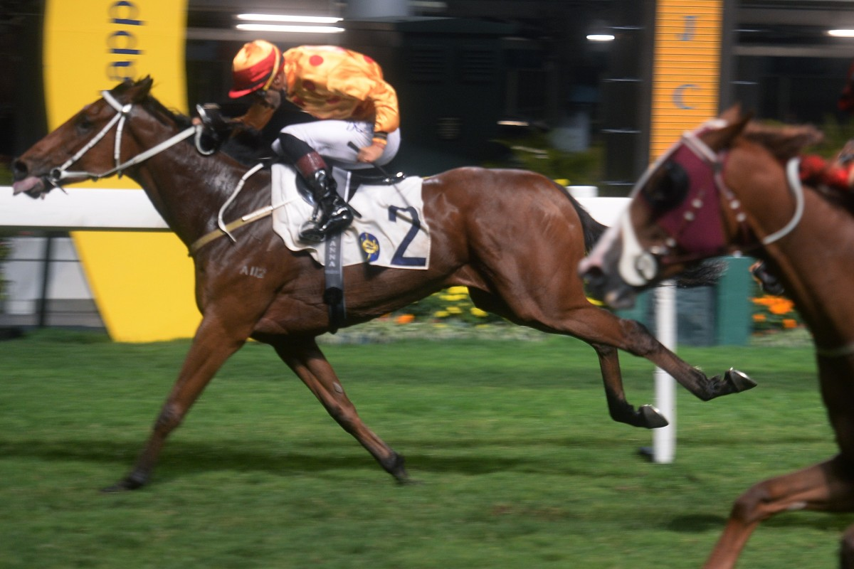 Gold Mount salutes at Happy Valley last year. Photos: Kenneth Chan