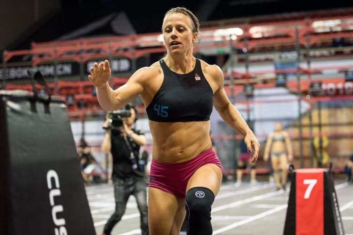Kristin Holte at the Asia CrossFit Championships earlier this year. Photo: Asia CrossFit Championship