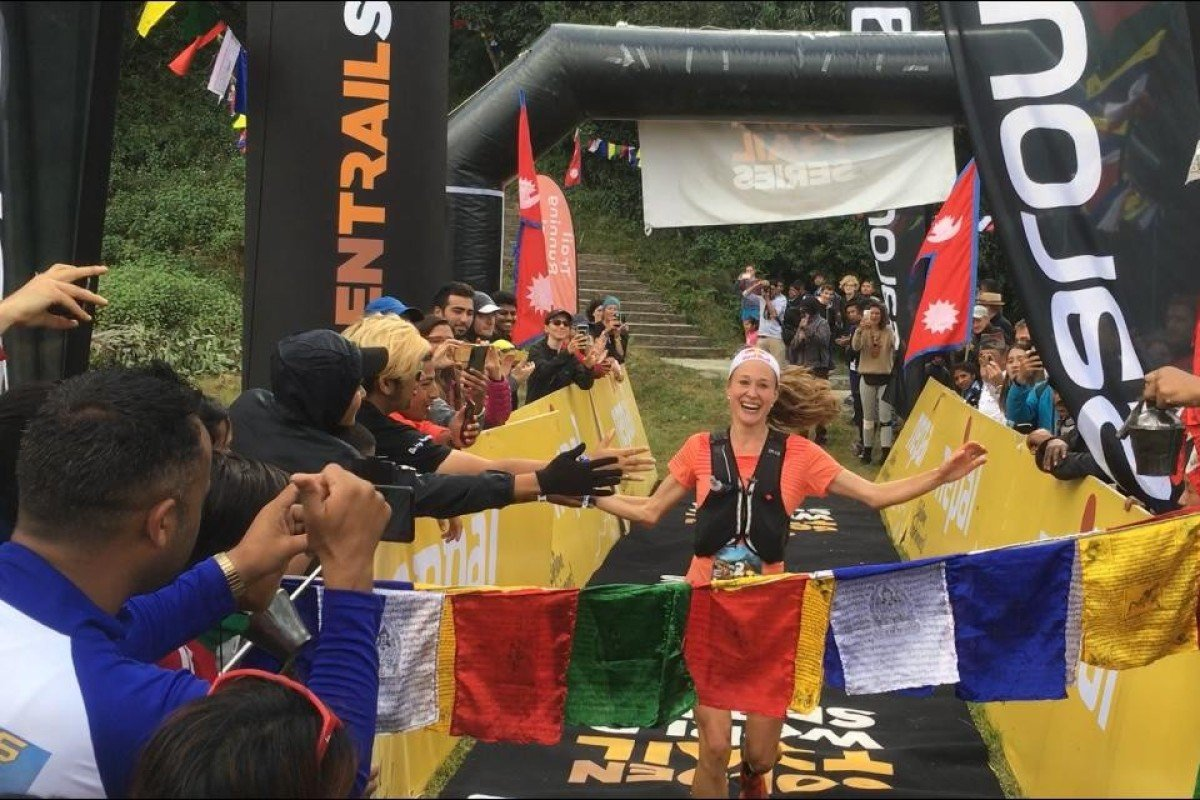 Judith Wyder has been crowed winner of the Golden Trail Series after winning the final 42km race in Nepal. Photo: Mark Agnew
