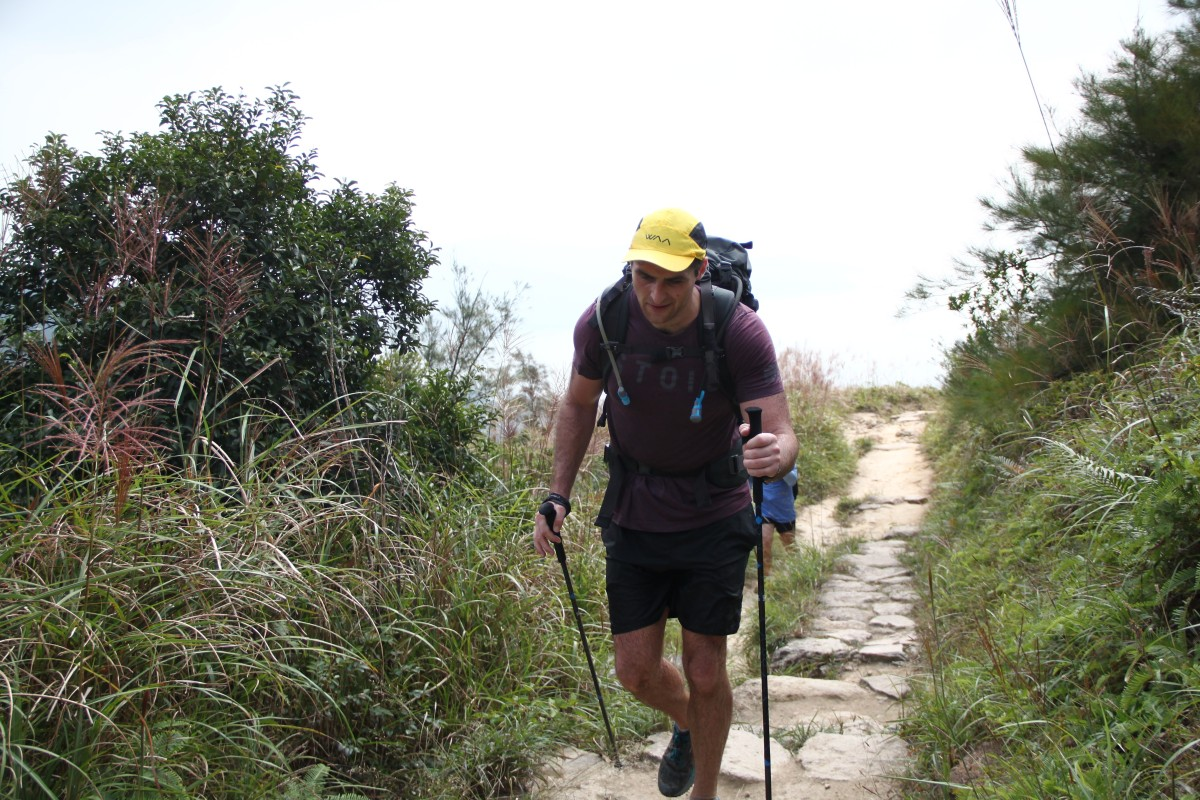 Son Completes Lantau 70km Carrying 45kg One For Every