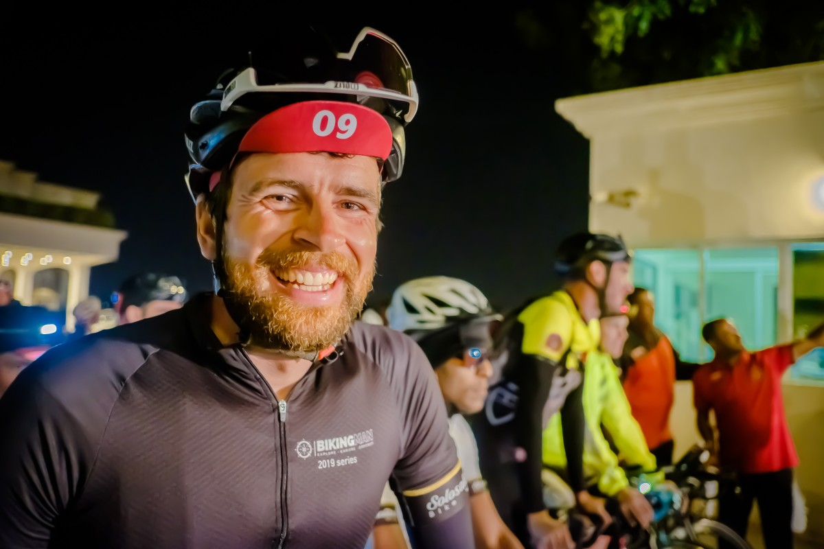Jonas Deichmann is an endurance cyclist. He is trying to set the world record for cycling from Norway to Cape Town. Photos: Steve Thomas