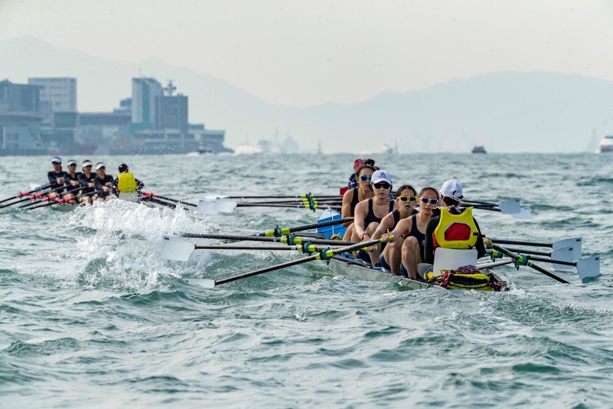 Hundreds of rowers will take to the water in this weekend's Coastal Rowing World Championships. Photo: Hong Kong Rowing Association